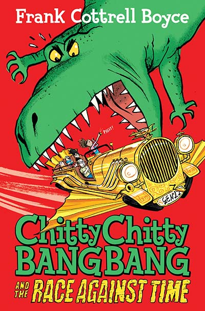 Chitty Chitty Bang Bang and the Race Against Time - Jacket