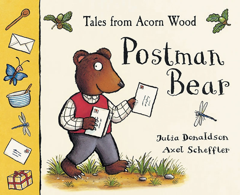 Tales From Acorn Wood: Postman Bear - Jacket