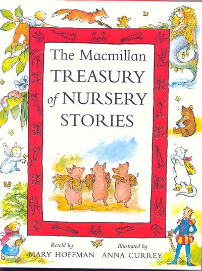 The Macmillan Treasury of Nursery Stories - Jacket