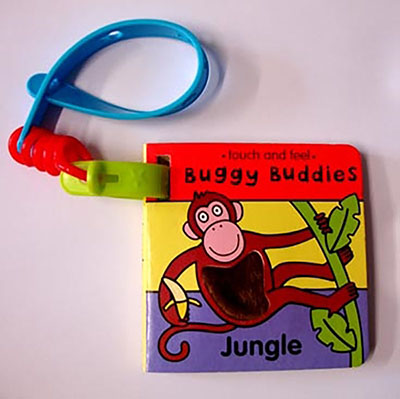 Touch & Feel Buggy Buds:Jungle - Jacket