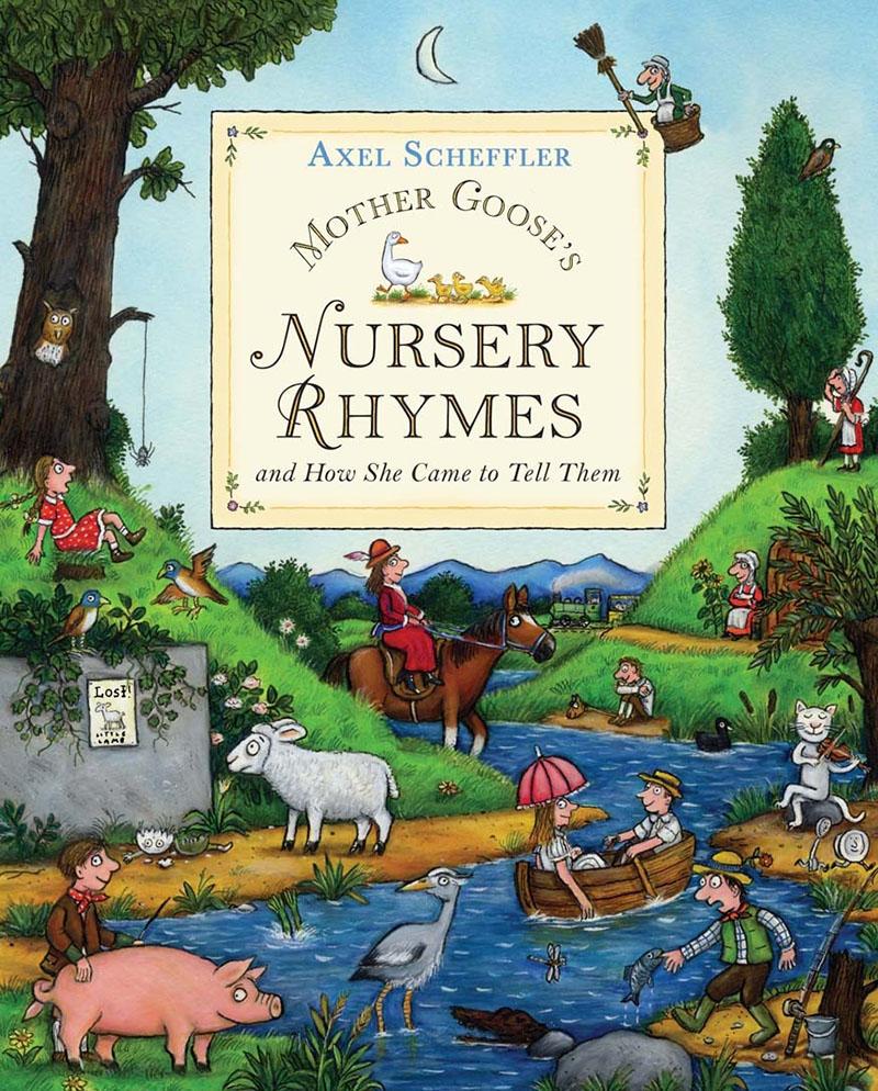 Mother Goose's Nursery Rhymes - Jacket