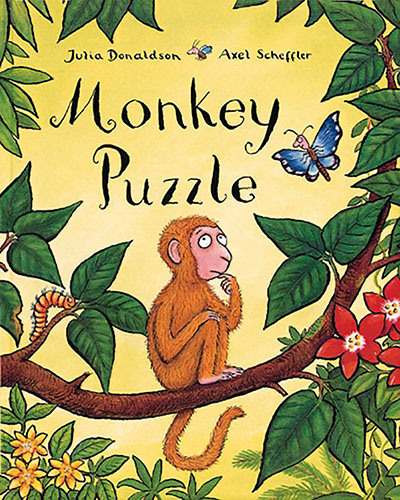 Monkey Puzzle Board Book - Jacket