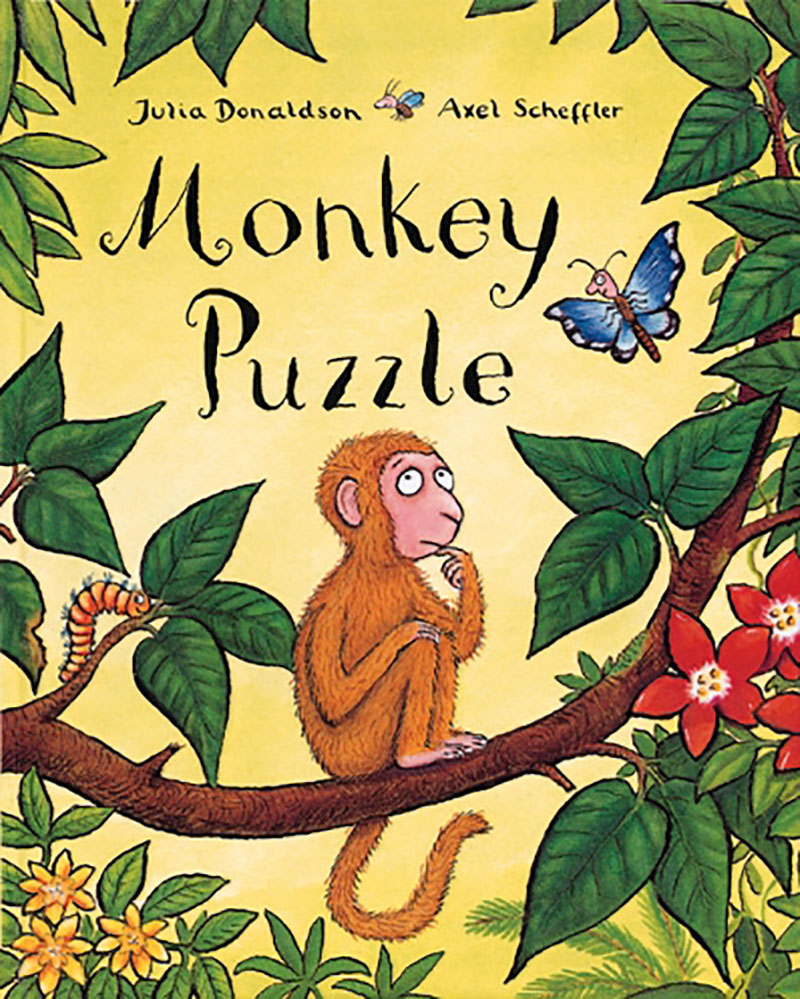 Monkey Puzzle Board Book - Jacket