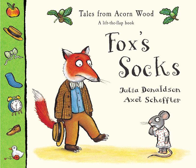 Tales From Acorn Wood: Fox's Socks - Jacket