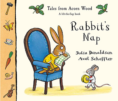 Tales From Acorn Wood: Rabbit's Nap - Jacket