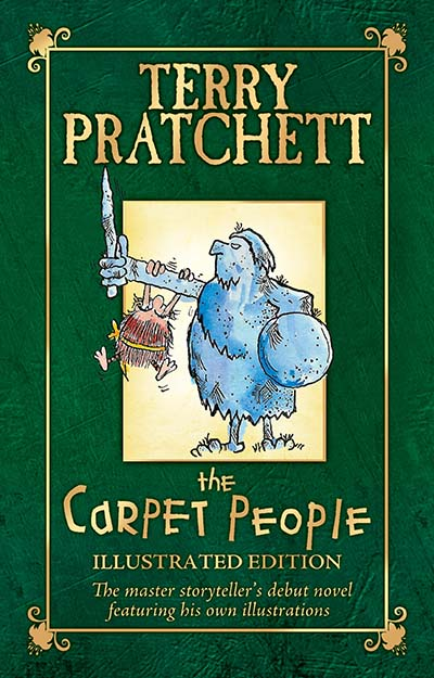 The Carpet People: Illustrated Edition - Jacket
