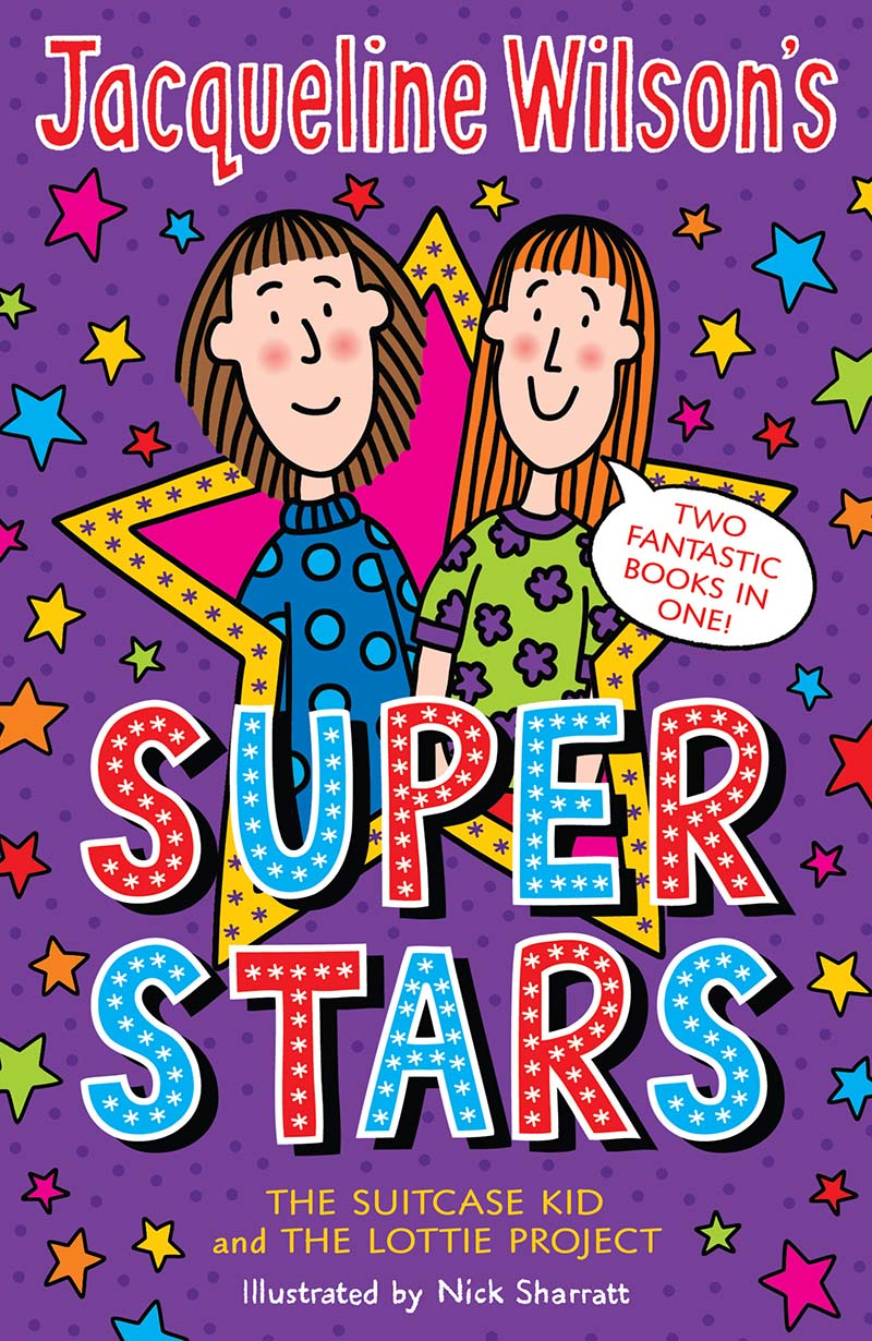 Jacqueline Wilson's Superstars - Jacket