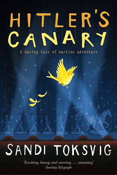 Hitler's Canary - Jacket