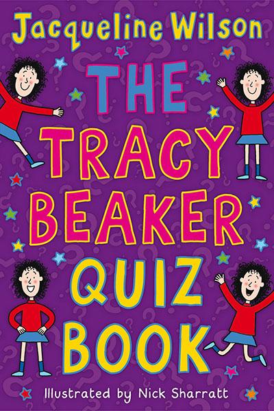 The Tracy Beaker Quiz Book - Jacket
