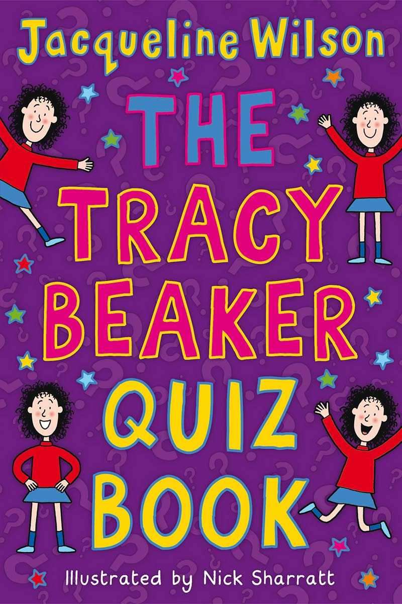 The Tracy Beaker Quiz Book - Jacket