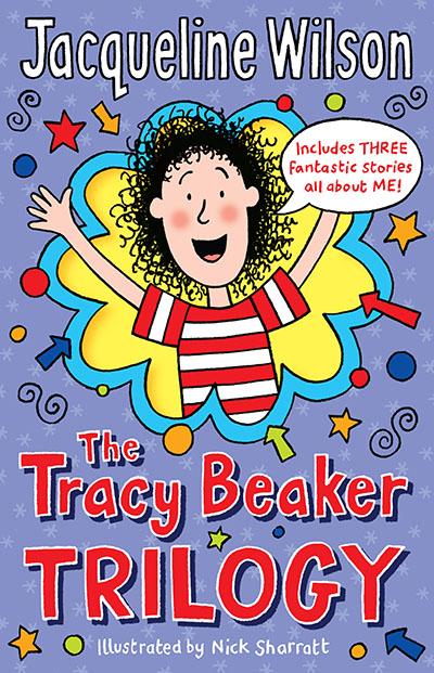The Tracy Beaker Trilogy - Jacket