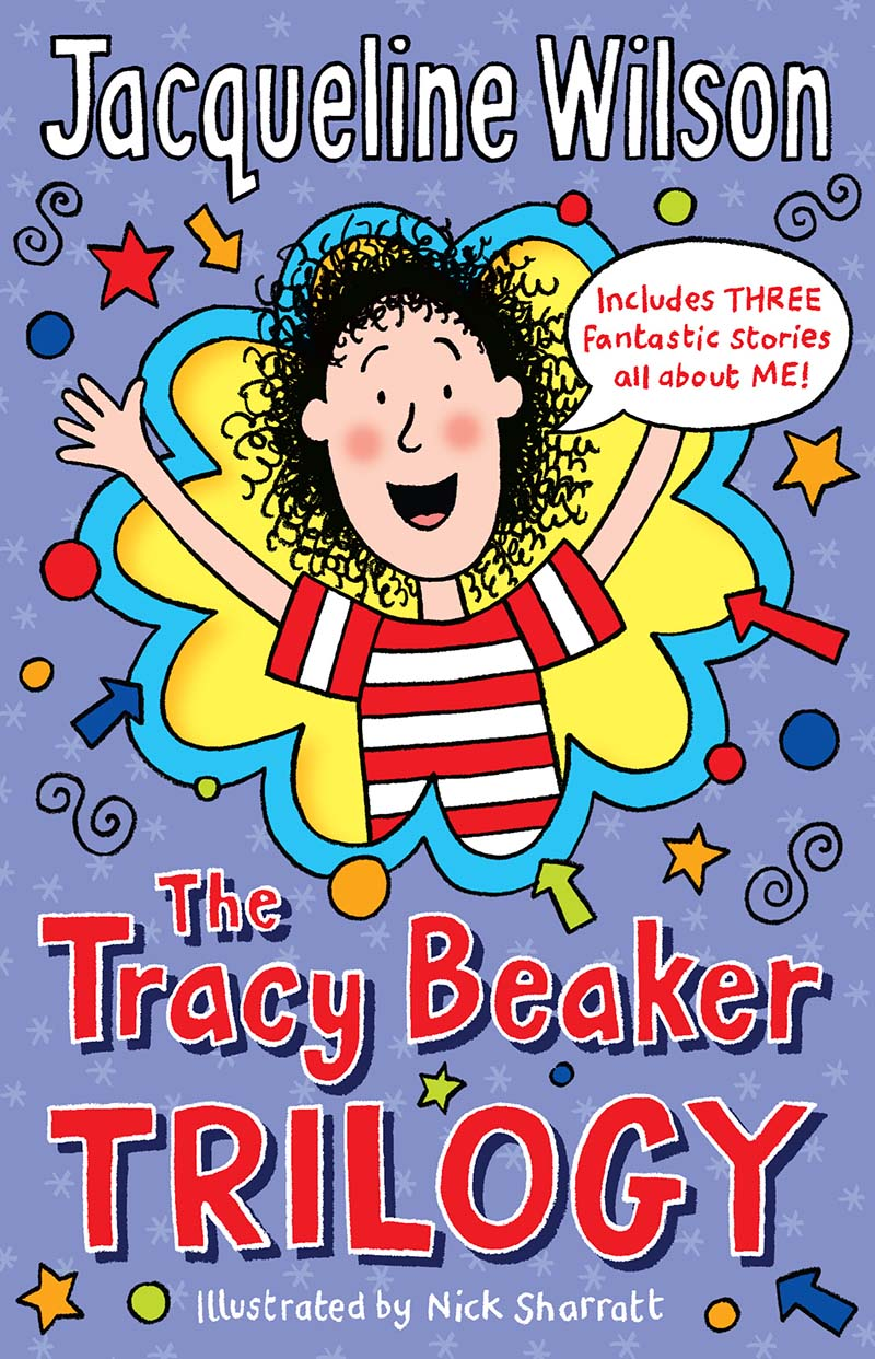 The Tracy Beaker Trilogy - Jacket