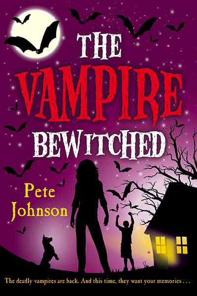 The Vampire Bewitched - Jacket