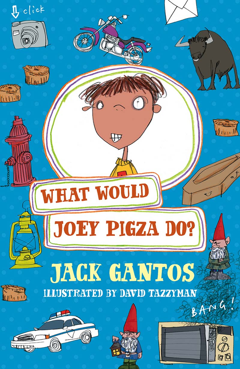 What Would Joey Pigza Do? - Jacket