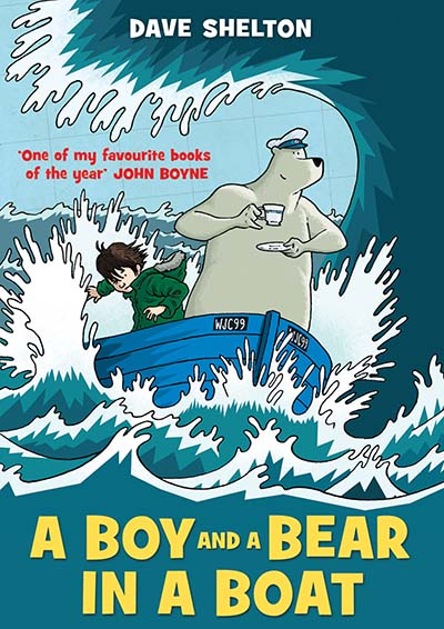 A Boy and a Bear in a Boat - Jacket