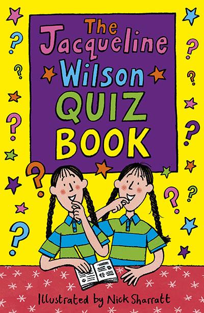 Jacqueline Wilson Quiz Book - Jacket