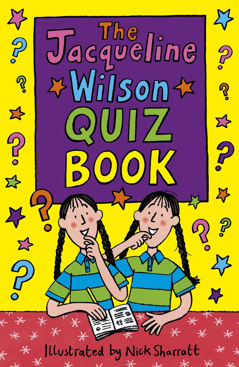 Jacqueline Wilson Quiz Book - Jacket
