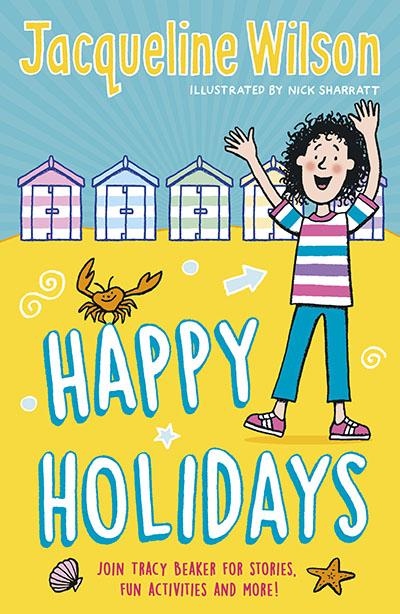 Jacqueline Wilson's Happy Holidays - Jacket