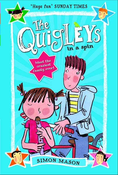 The Quigleys in a Spin - Jacket