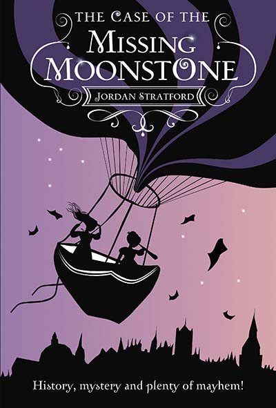 The Case of the Missing Moonstone - Jacket