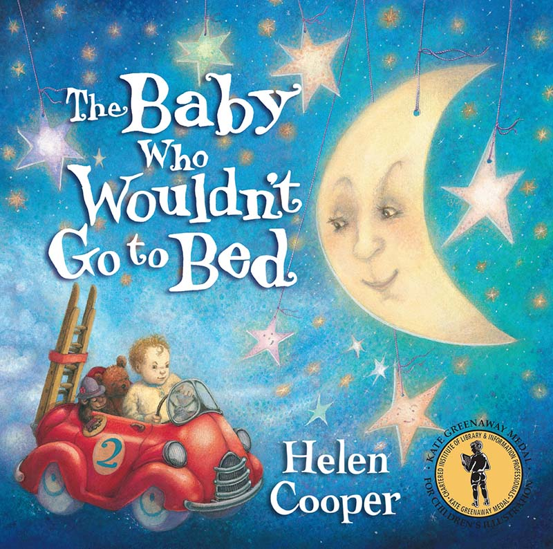 The Baby Who Wouldn't Go To Bed - Jacket