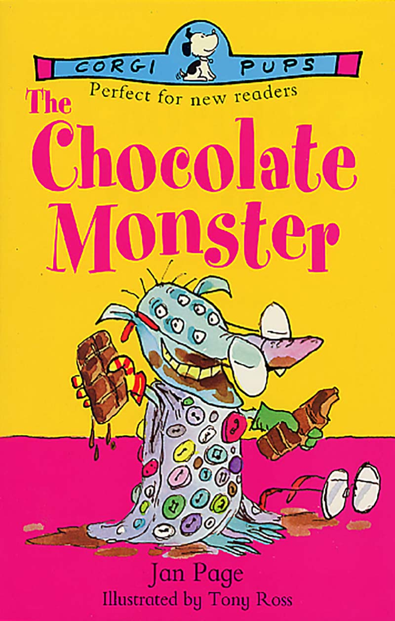 The Chocolate Monster - Jacket