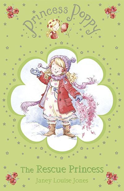 Princess Poppy: The Rescue Princess - Jacket