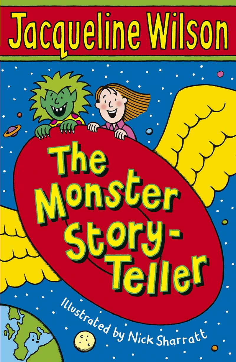 The Monster Story-Teller - Jacket