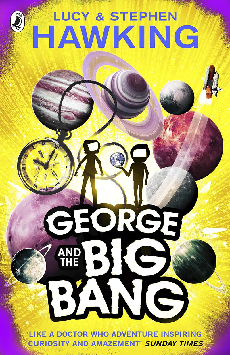 George and the Big Bang - Jacket
