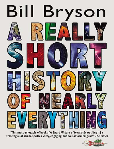 A Really Short History of Nearly Everything - Jacket