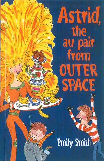 Astrid, The Au-Pair From Outer Space - Jacket
