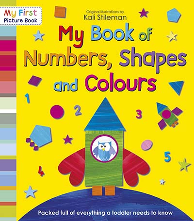 My Book of Numbers, Shapes and Colours - Jacket