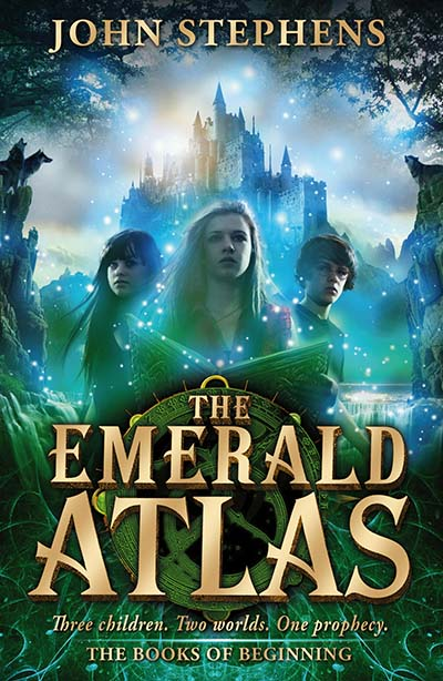 The Emerald Atlas:The Books of Beginning 1 - Jacket