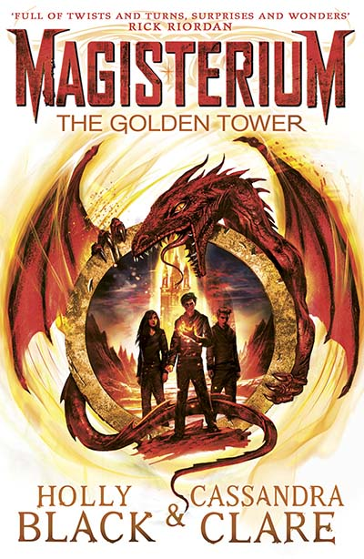 Magisterium: The Golden Tower - Jacket