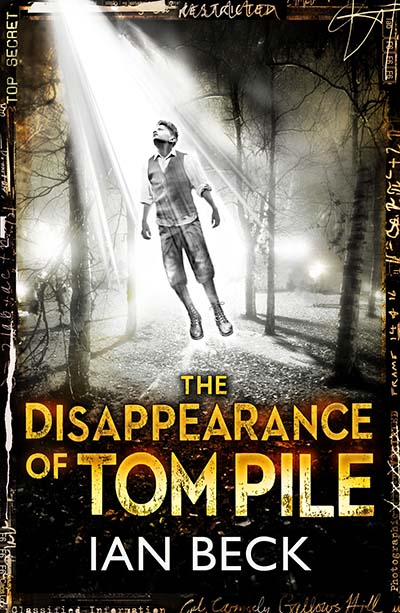 The Casebooks of Captain Holloway: The Disappearance of Tom Pile - Jacket