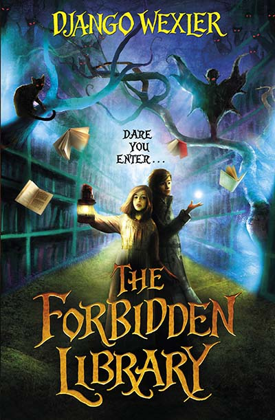 The Forbidden Library - Jacket
