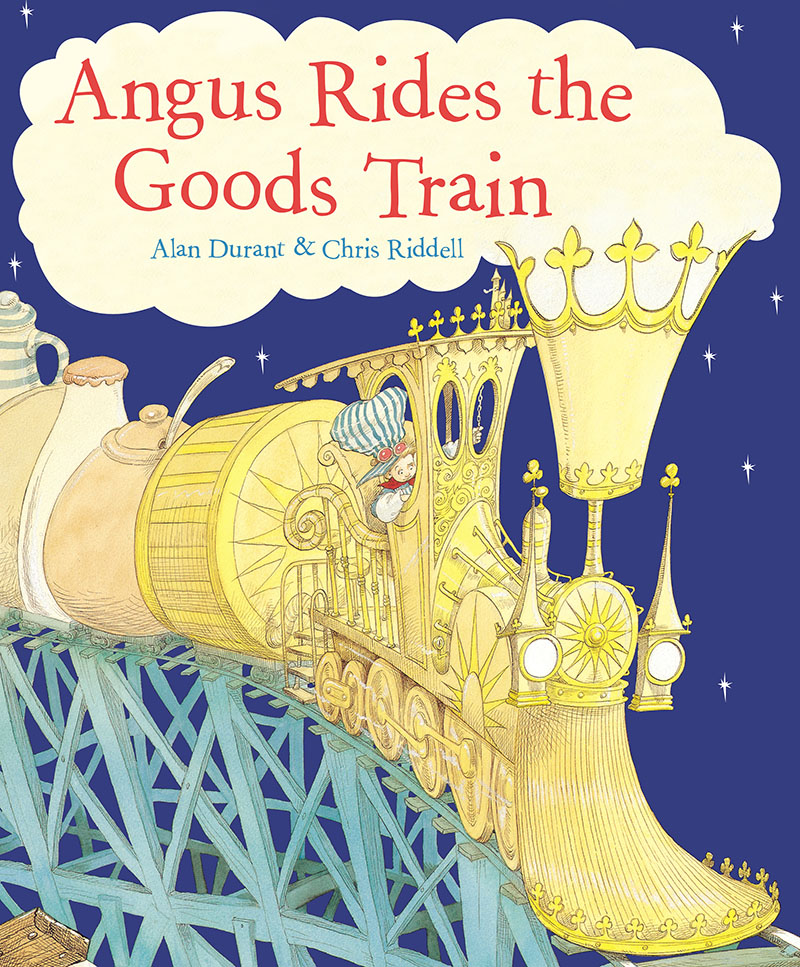 Angus Rides The Goods Train - Jacket
