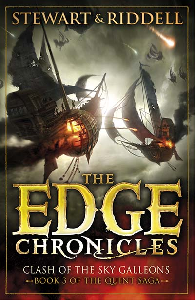 The Edge Chronicles 3: Clash of the Sky Galleons - Jacket
