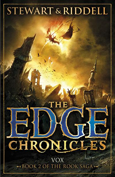 The Edge Chronicles 8: Vox - Jacket