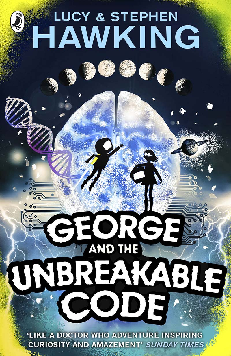 George and the Unbreakable Code - Jacket