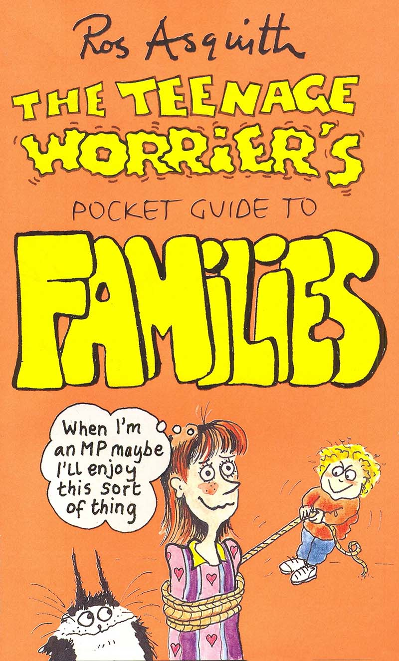 Teenage Worrier's Guide To Families - Jacket