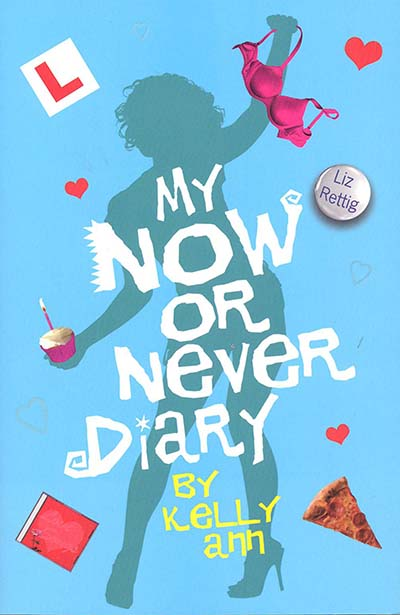 My Now or Never Diary - Jacket