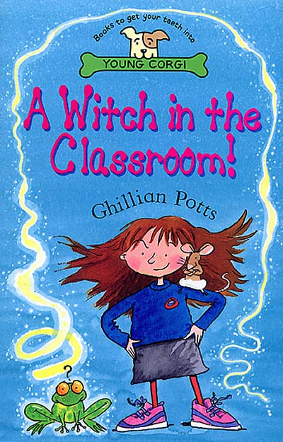 A Witch In The Classroom! - Jacket