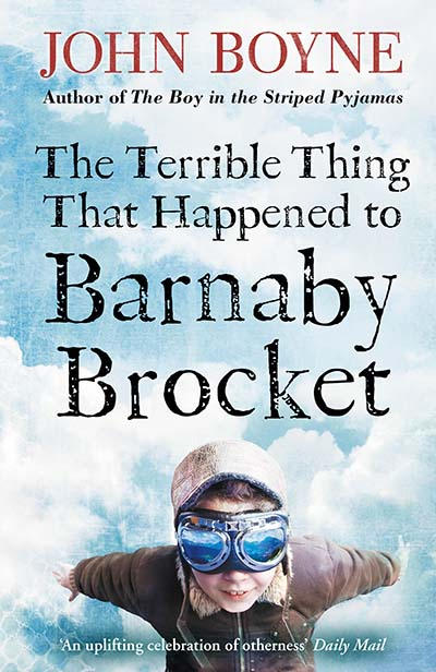 The Terrible Thing That Happened to Barnaby Brocket - Jacket