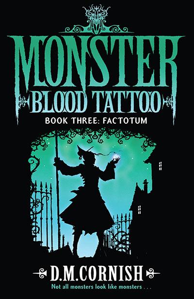 Monster Blood Tattoo: Factotum - Jacket