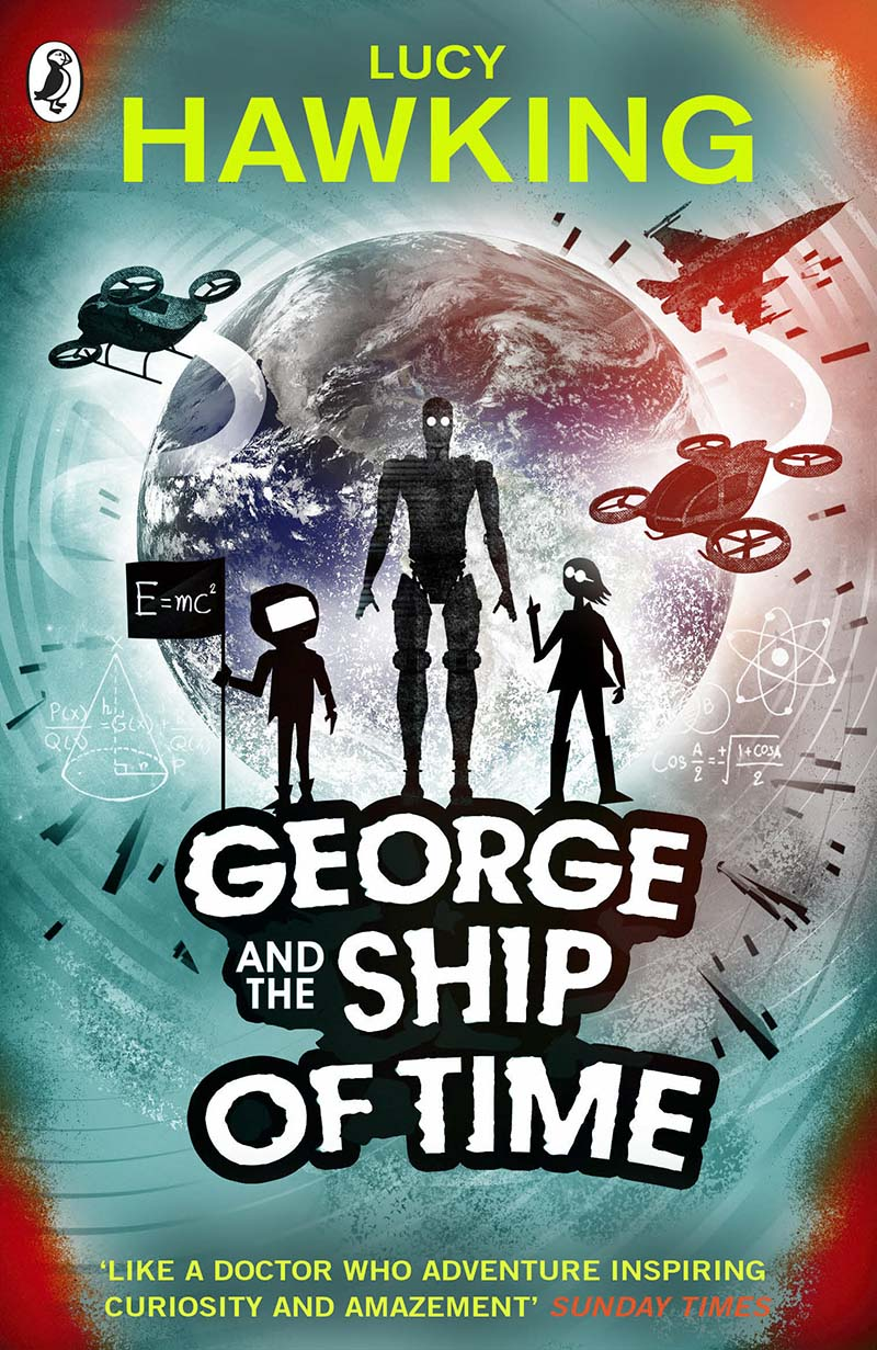 George and the Ship of Time - Jacket