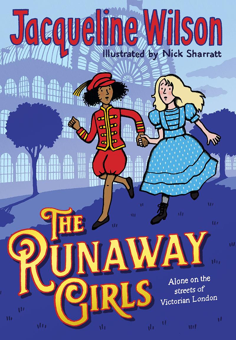 The Runaway Girls - Jacket