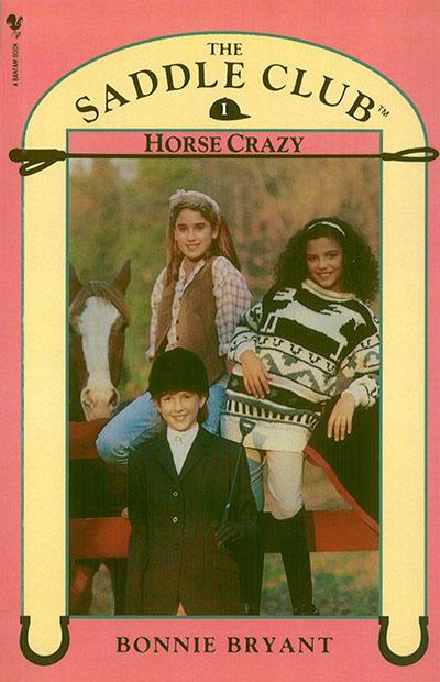 Saddle Club Book 1: Horse Crazy - Jacket