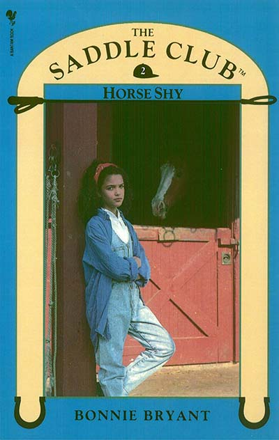 Saddle Club Book 2: Horse Shy - Jacket