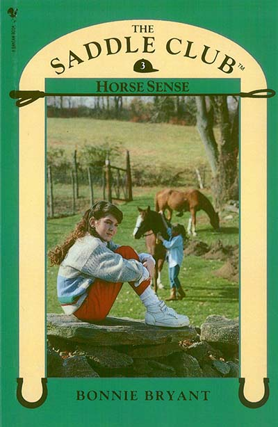 Saddle Club Book 3: Horse Sense - Jacket